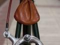 Detalle bolsa de herramientas de cuero