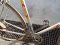 Bicicleta de carreras marca BH del año 1986 antes de restauración