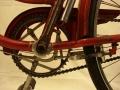 Detalle sistema de freno trasero | Bicicleta Orbea antigua de varillas años 40 restaurada